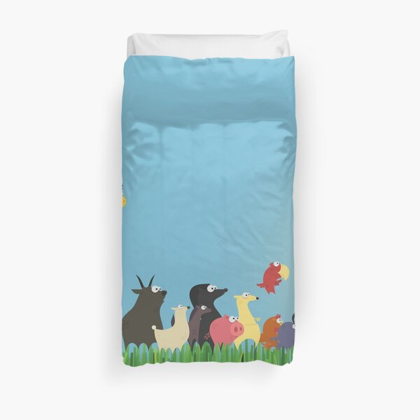 What's happening on the farm? Kids collection Duvet Cover