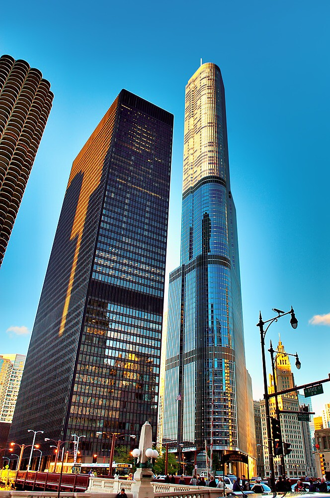 Trump Tower Chicago by Steve Ivanov