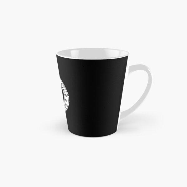 Logo Autour du poêle à bois (blanc) Mug long