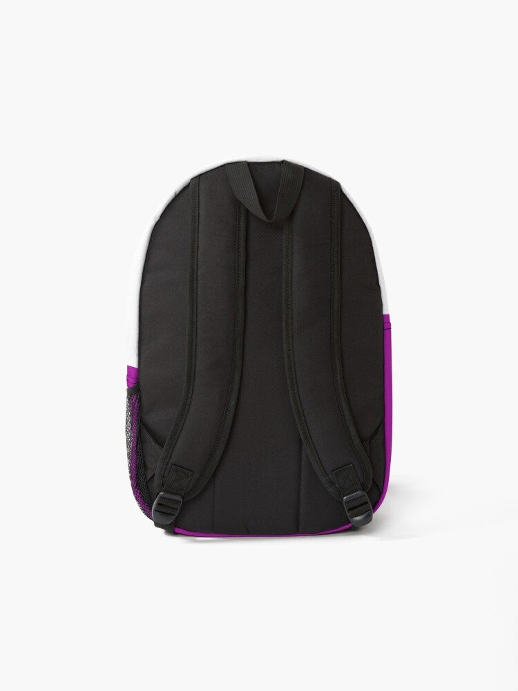 Alternate view of The Articulate Autistic Gold Infinity Logo Backpack