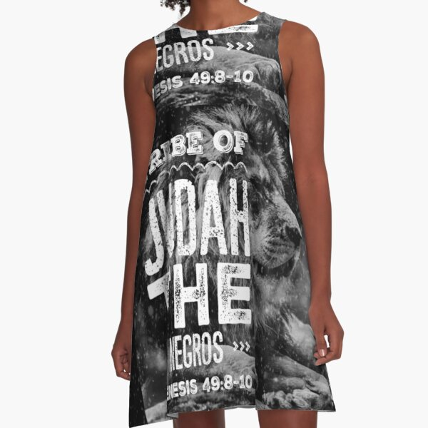 Tribe of Judah the Negros A-Line Dress