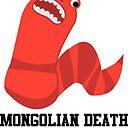 Cute Cartoon Mongolian Death Worm Sticker By Eggtooth Redbubble