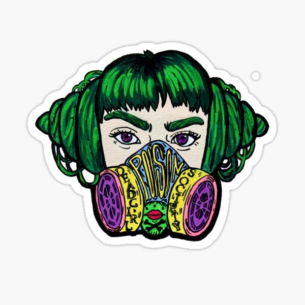 Dead Girl Society: Poison Sticker