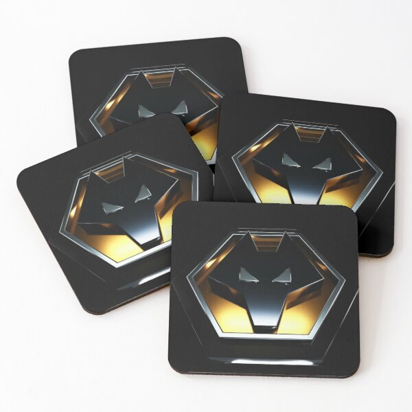 wolves fc 3D Coasters (Set of 4)