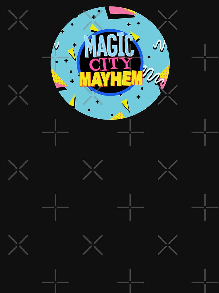 Saved By The Mayhem logo by magiccitymayhem