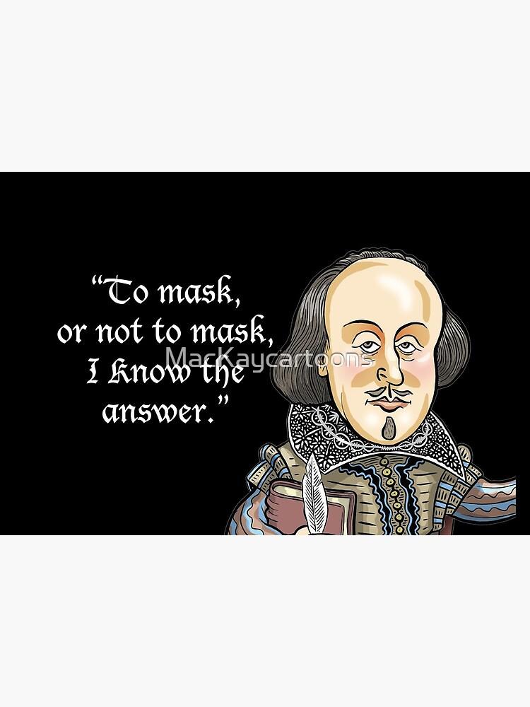 William Shakespeare  by MacKaycartoons