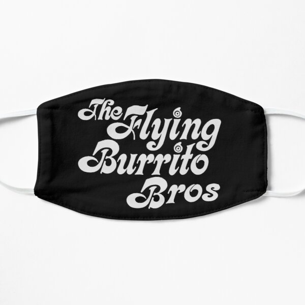 Flying Burrito Brothers Shirt, Sticker, Poster, Mask Mask