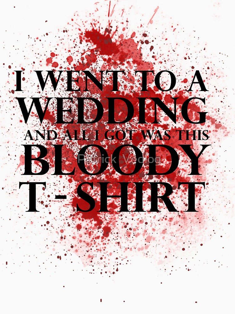 Game of Thrones - Red Wedding T-shirt | Unisex T-Shirt