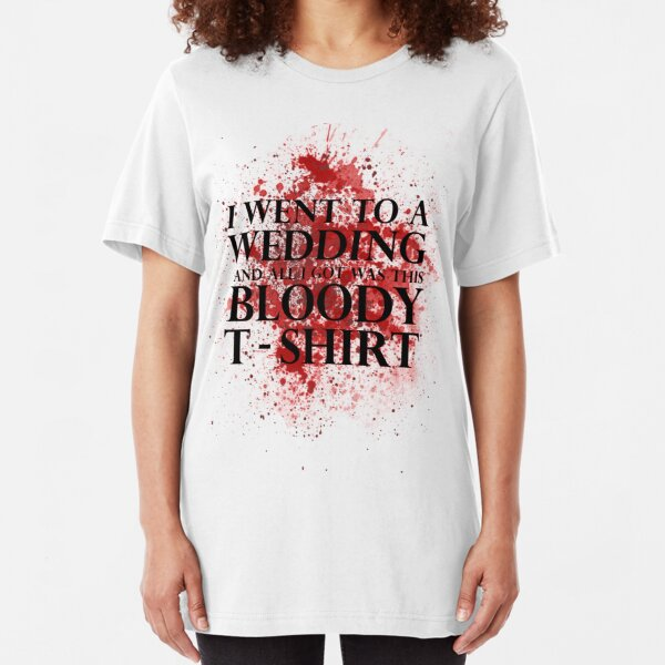 Men/'s I Went To a Wedding T-Shirt Game of Thrones Inspired Stark Lannister