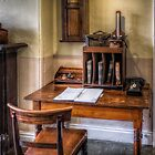 Victorian Pharmacy Office by Adrian Evans