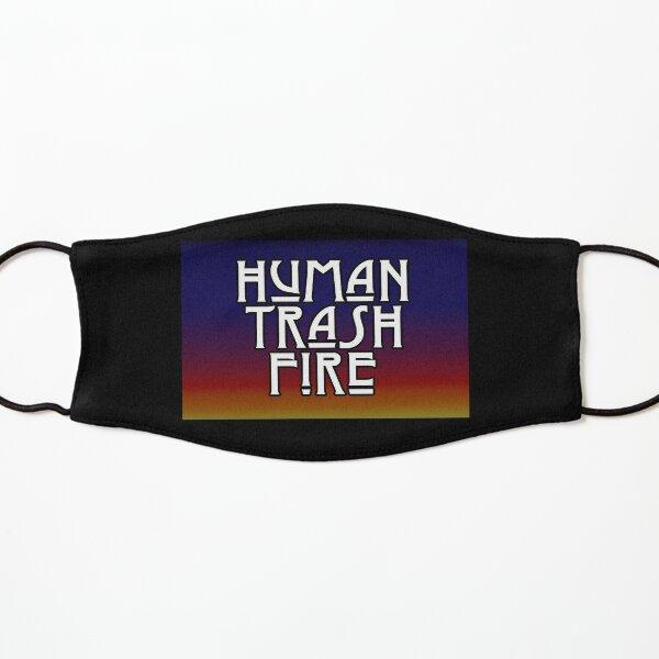 human trash fire Kids Mask
