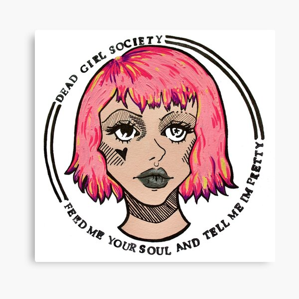 Dead Girl Society: Feed Me Your Soul Canvas Print