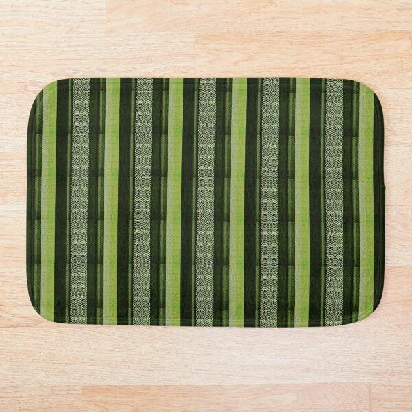Copy of Art Deco: Green Leaf Bath Mat
