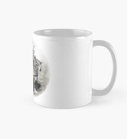 Tortoise and possum's night out. Mug
