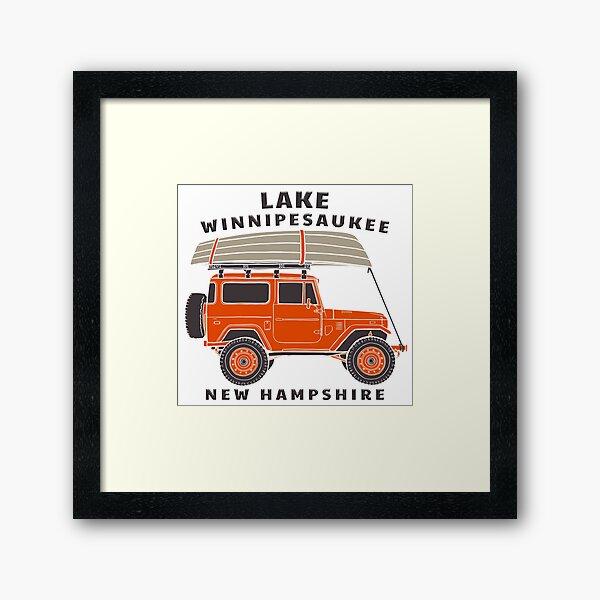 Lake Winnipesaukee, New Hampshire Framed Art Print
