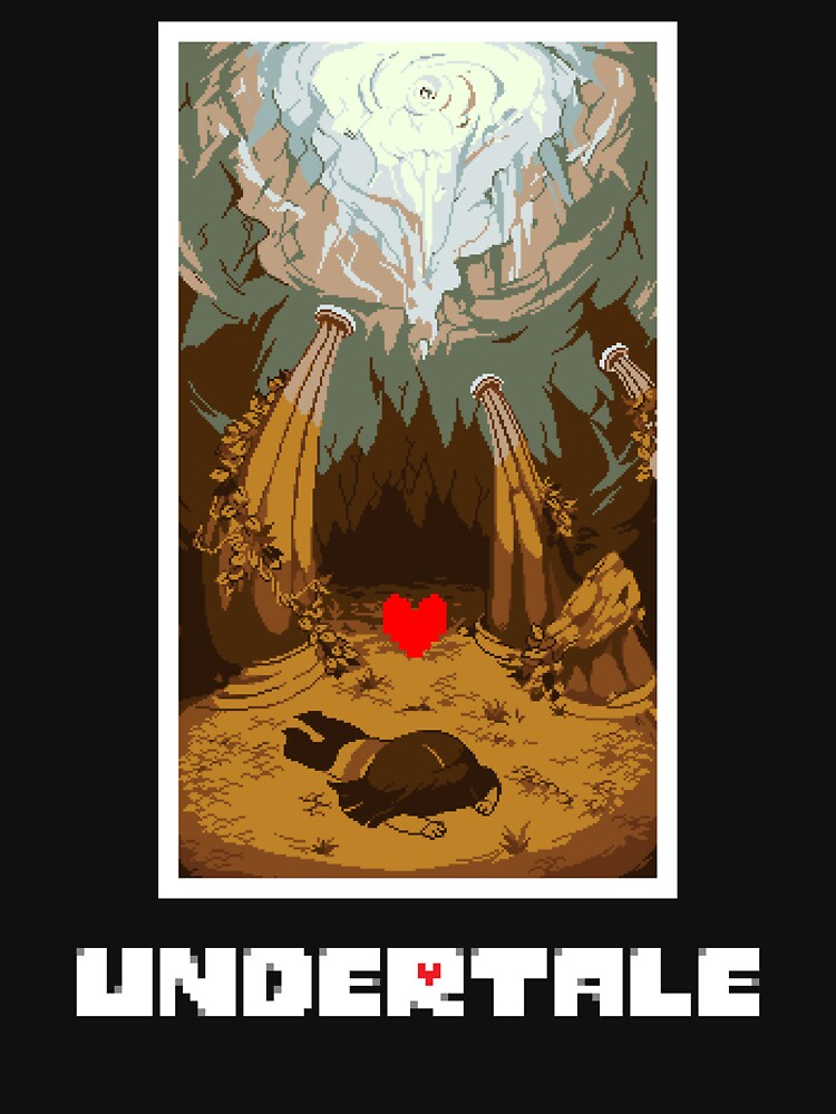 Undertale Human   Unisex T-Shirt