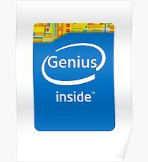 Genius inside Poster