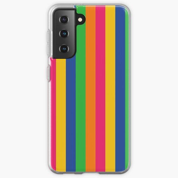 Multi Coloured Stripes Samsung Galaxy Soft Case