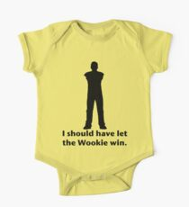 Let the Wookie win One Piece - Short Sleeve