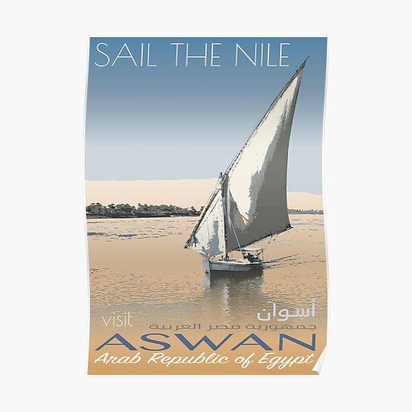 Visit Aswan Poster