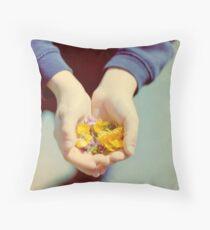 Summer Offerings Throw Pillow