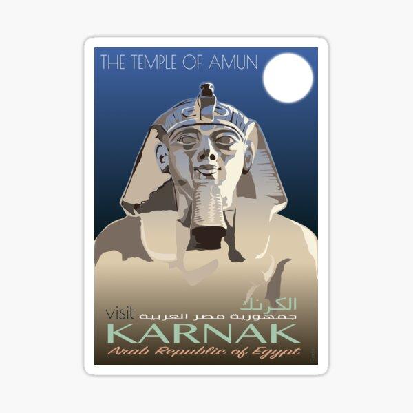 Visit Karnak Sticker