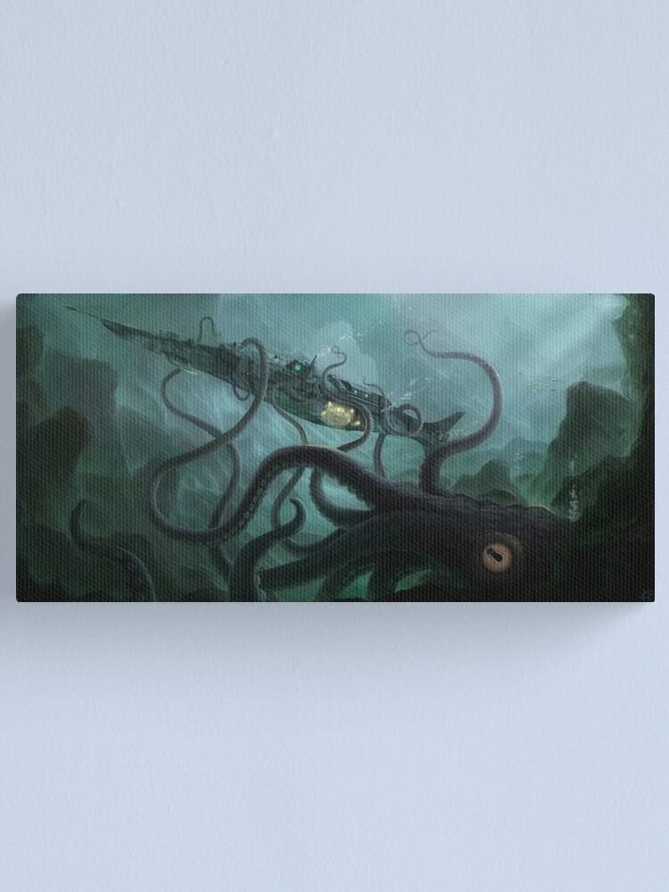 Alternate view of The Nautilus Canvas Print