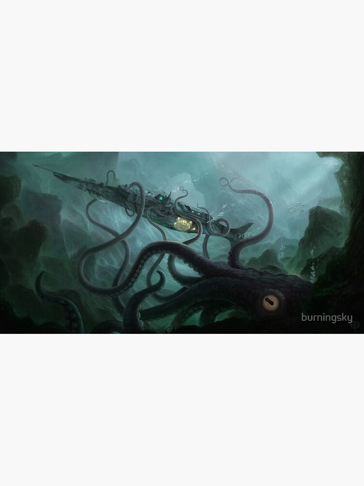 The Nautilus by burningsky