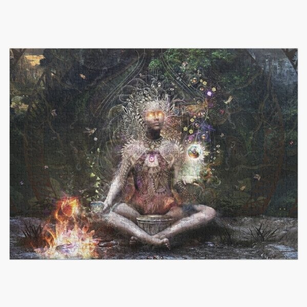 Sacrament For The Sacred Dreamers Jigsaw Puzzle