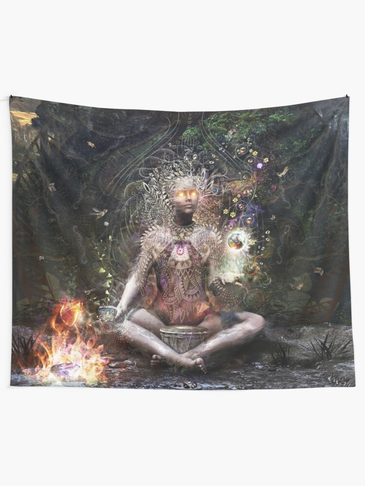Alternate view of Sacrament For The Sacred Dreamers Tapestry