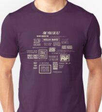 League of Gentlemen - Local Sayings T-Shirt