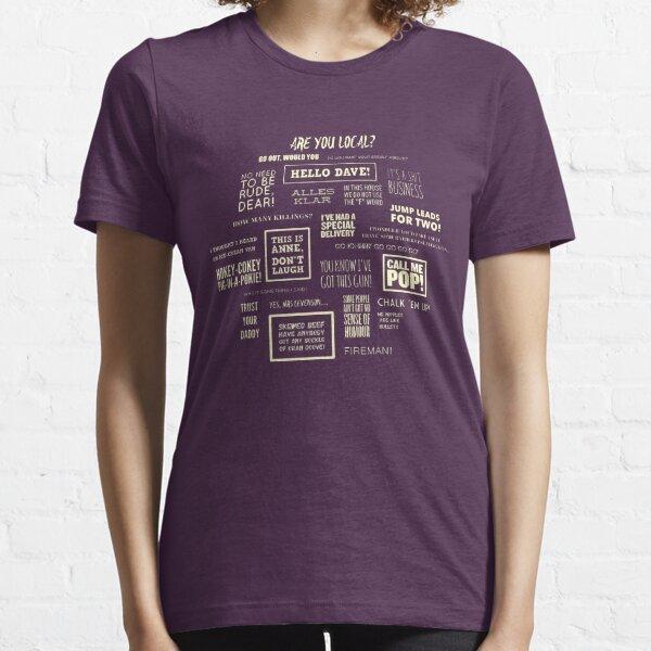 League of Gentlemen - Paroles locales T-shirt essentiel