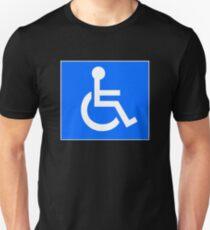 Disabled Access Symbol Unisex T-Shirt
