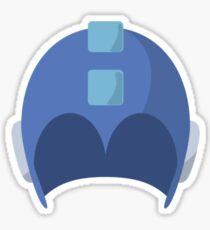 Cool Megaman Helmet Picture Sticker