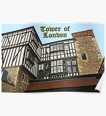 Tower of London Apartments Poster