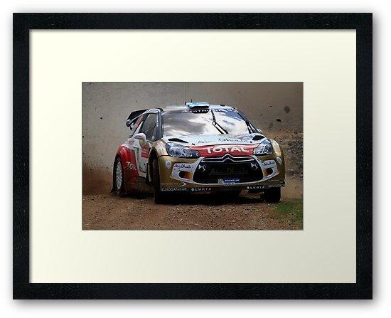 Miko Hirvonen - FIA World Rally Championship Australia 15.09.2013 by Noel Elliot
