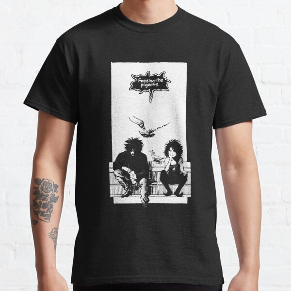 Feeding the Pigeons  (white) Classic T-Shirt