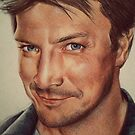 Richard Castle by Sarah  Mac Illustration