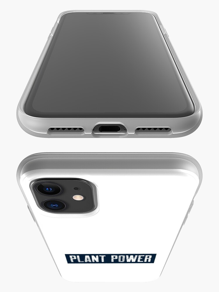 Alternate view of Plant Power For People Who Eat Plants iPhone Case & Cover