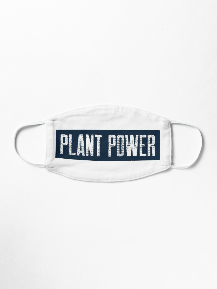 Alternate view of Plant Power For People Who Eat Plants Mask