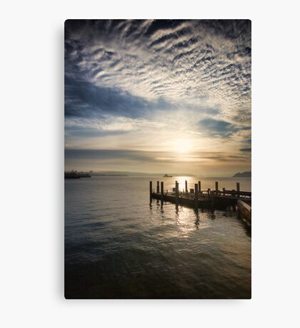 Early Morning Serenity Canvas Print