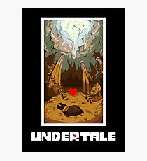 Undertale Human Photographic Print
