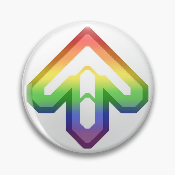 DDR LGBT Pride Arrow Pin
