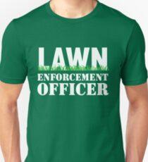 Lawn Enforcement Officer Slim Fit T-Shirt