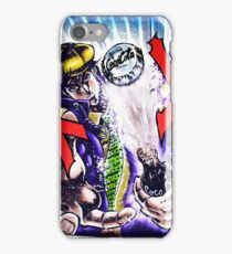 Jojo's Bizarre Adventure - Joseph Joestar Coca Cola attack iPhone Case/Skin