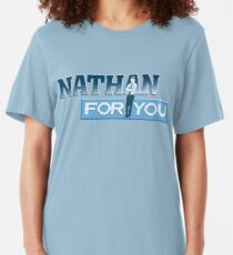Nathan For You Slim Fit T-Shirt