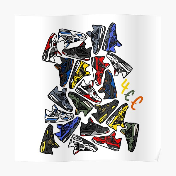 Nike Shoes Posters | Redbubble