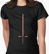 Kylo Ren Lightsaber Women's Fitted T-Shirt