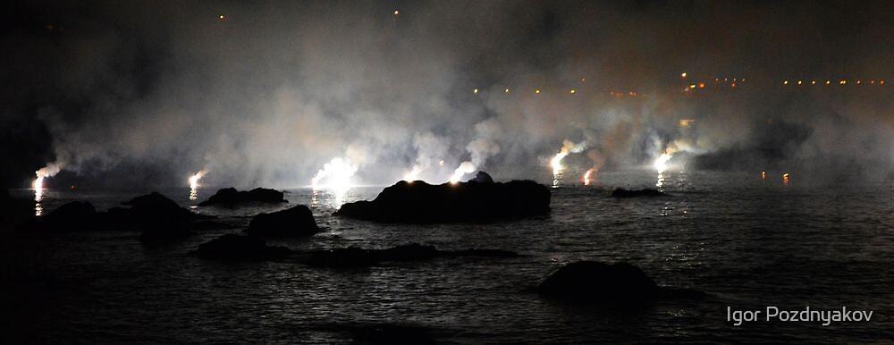 Smoke on the Water II. Sicily 2013 by Igor Pozdnyakov