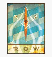 The Serenity of Sculling Photographic Print